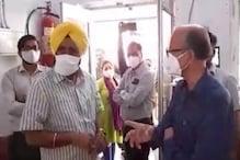 'रामपुर जिला अस्पताल में ऑक्सीजन की नहीं है कमी, सभी 22 वेंटिलेटर काम कर रहे'