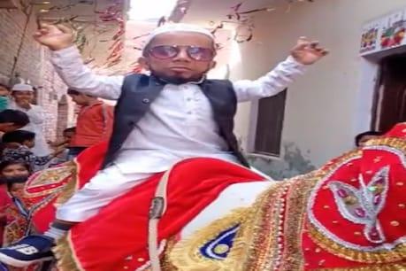 शामली के अजीम मंसूरी की शादी तय हो गई है, उसने इस खुशी में डांस का वीडियो वायरल किया है.