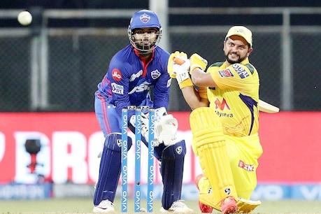 सुरेश रैना ने दिल्ली कैपिटल्स के खिलाफ शानदार अर्धशतक जड़ा लेकिन उनकी टीम चेन्नई को शिकस्त झेलनी पड़ी. (PTI)