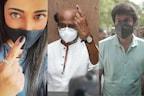 Tamil Nadu Elections 2021: रजनीकांत, श्रुति, विजय समेत कई बड़े सेलेब्स ने डाले वोट, PHOTOS शेयर कर लिखी ये बात