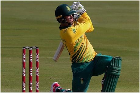 वेन डर डुसेन ने पाकिस्तान के खिलाफ हाल ही में हुई वनडे सीरीज में 183 रन बनाए थे. (Cricket South Africa Twitter)