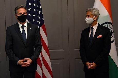 G7 भारतीय मीटिंग के दौरान विदेश मंत्री एंथनी जे शंकरन और s जयशंकर।  (फोटो फोटोः रॉयटर्स)