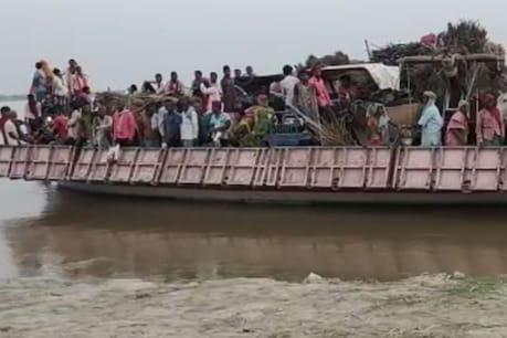 लॉकडाउन में सड़कों पर पुलिस तो लोगों ने नदी को बना लिया रास्ता, बिहार से नाव पर जाने लगे यूपी