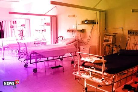 रांची के रिम्स में 528 बेड वाला अस्थायी कोविड हॉस्पिटल बनकर तैयार हुआ.