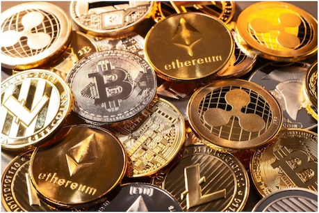 Cryptocurrencies can deliver quicker and more rapid returns, but they can also decline equally rapidly.  (symbolic picture)