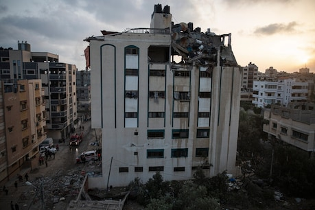 Gaza health officials said that the cross-border fighting had started on Monday evening.  (Photo: AP)