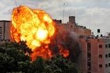 इजराइल ने गाजा पर फिर किया हवाई हमला, तीन इमारतें नष्ट; 42 लोगों की मौत