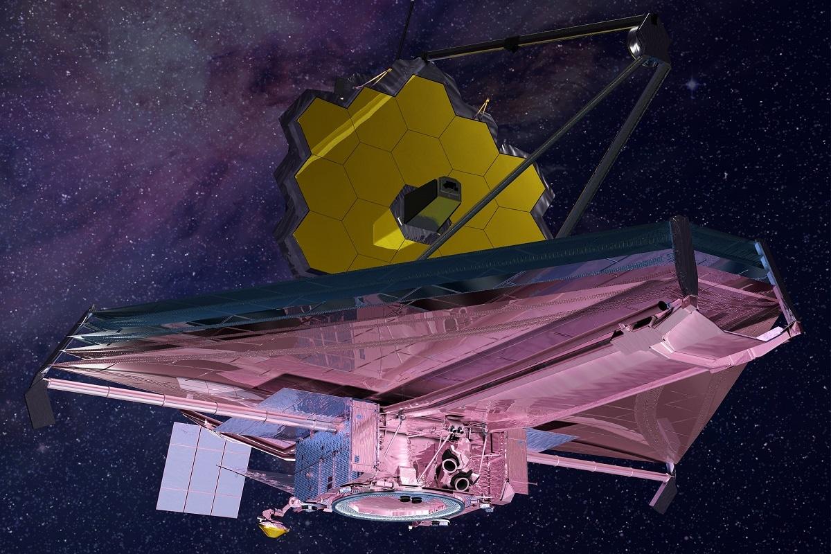 Space, NASA, James Webb space Telescope, JWST, Pre-Launch Test, Telescope, Space Telescope, Infrared Telescope, Giant mirror of Telescope,