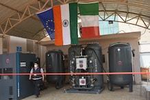 भारत-इटली दोस्ती,48 घंटे में तैयार किया Oxygen Plant, 100 बेड को ऑक्सीजन