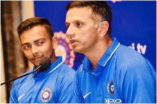 राहुल द्रविड़ श्रीलंका दौरे पर टीम इंडिया के कोच हैं (Prithvi Shaw/Instagram)