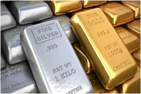 Silver is currently running well above the operating price of 2021, while gold is at a lower level.