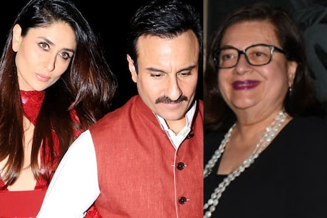 Kareena and Saif's marriage has completed 8 years.  File photo.