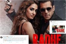सलमान खान की 'राधे' को लेकर उठी बहिष्कार की मांग, ट्रेंड हुआ #BoycottRadhe