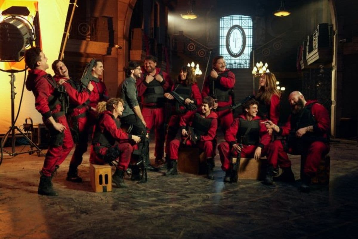 Money Heist 5 shooting ends, series will knock on Netflix soon, photos from set went viral
