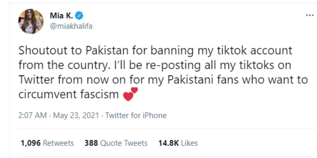 mia khalifa, mia khalifa pakistan