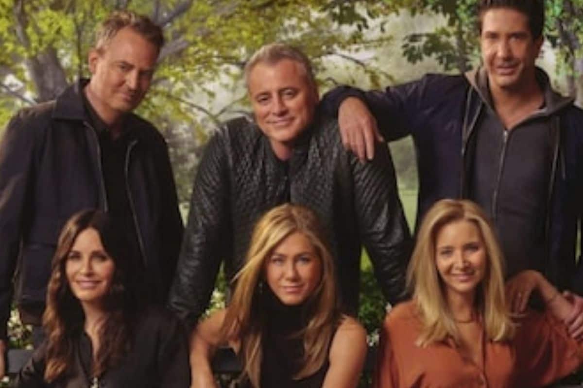 Friends The Reunion, Jennifer Aniston, Courteney Cox, Lisa Kudrow, Matt LeBlanc, Matthew Perry, जेनिफर एनिस्टन, डेविड शिमर