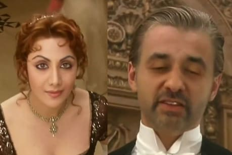 This video of Shilpa Shetty and Raj Kundra is becoming very viral.  photo credit - video grab