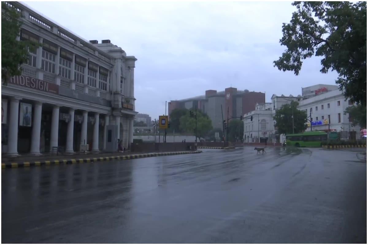 Delhi ncr, light rain, cyclone tauktae, तूफान टाउते