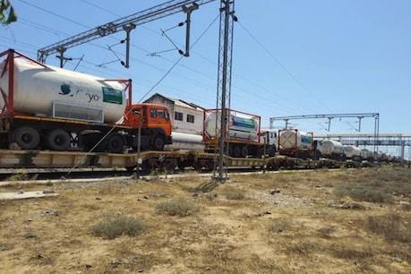 157 ऑक्सीजन स्पेशल ट्रेनों के जरिए 637 टैंकर भेजे जा रहे हैं. (सांकेतिक तस्वीर)