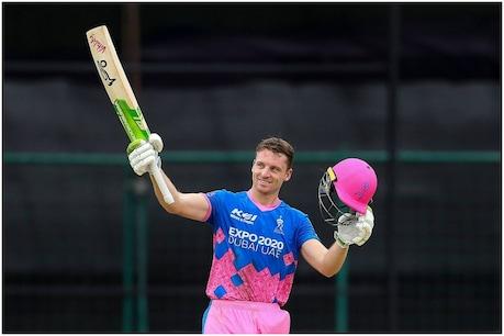 IPL 2021: जोस बटलर का यह टी20 का पहला शतक है. (PTI)