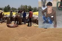 विकलांग 15 दिन से कर रहा गेहूं खरीदने की विनती, यहां परेशान हैं सैकड़ों किसान