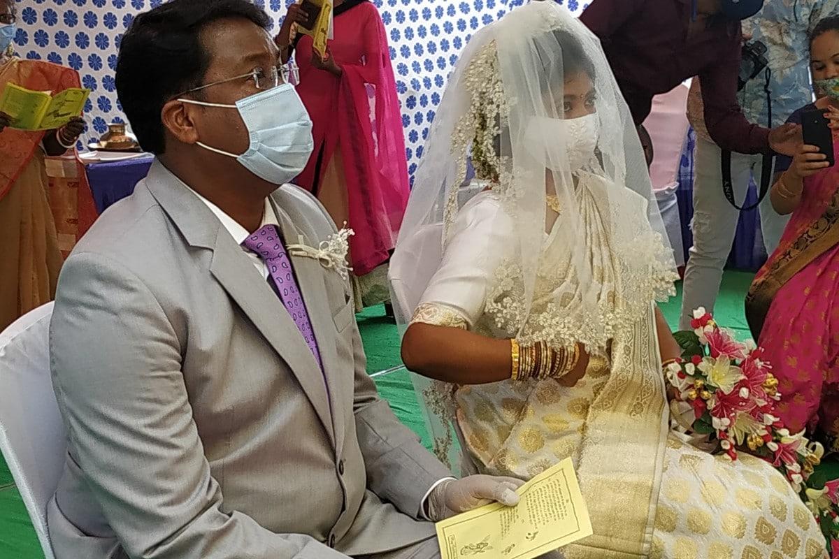 कांग्रेस MLA की शादी, रांची न्यूज़, झारखंड कोरोना अपडेट, लॉकडाउन की शादीCongress MLA wedding, Ranchi News, Jharkhand Corona update, lockdown wedding