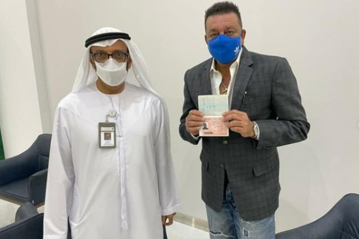 Sanjay Dutt becomes first actor to get golden visa of UAE, daughter Trishala congratulates dad