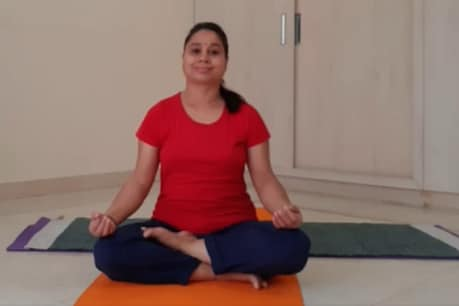 Learn this exercise from yoga teacher Savita Yadav