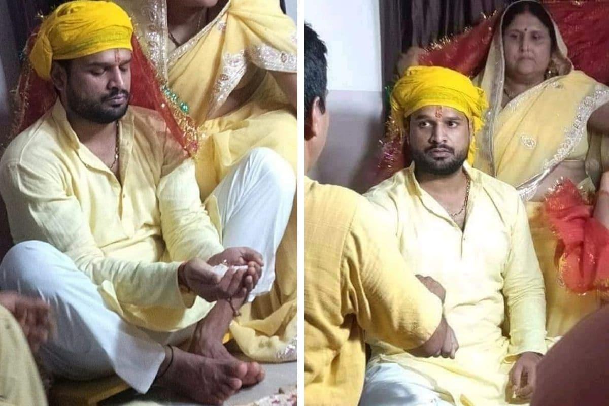 भोजपुरी सुपरस्टार रितेश पांडे की हल्दी रस्म की Photos वायरल, आज जन्मदिन पर ही हो रही है शादी