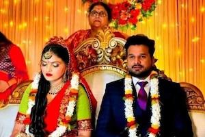 भोजपुरी सिनेमा के सुपरस्टार रितेश पांडे ने वैशाली पांडे संग की सगाई, जल्द करेंगे शादी; देखिए खास PHOTOS