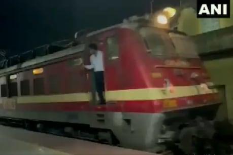नागपुर से दिल्ली के लिए चली मिल्क ट्रेन. (Pic- ANI)