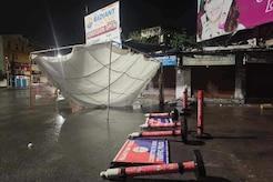 Rajasthan News Live Updates: टाउते तूफान का असर, तेज बारिश, पेड़ उखड़े, बिजली गुल, नक्की झील में उठी लहरें