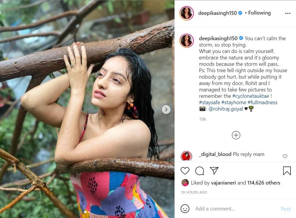 Deepika Singh, Cyclone Tauktae, Cyclone Tauktae update