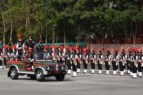 भारतीय सेना में शामिल हुए महिला सैनिकों का पहला दस्ता.