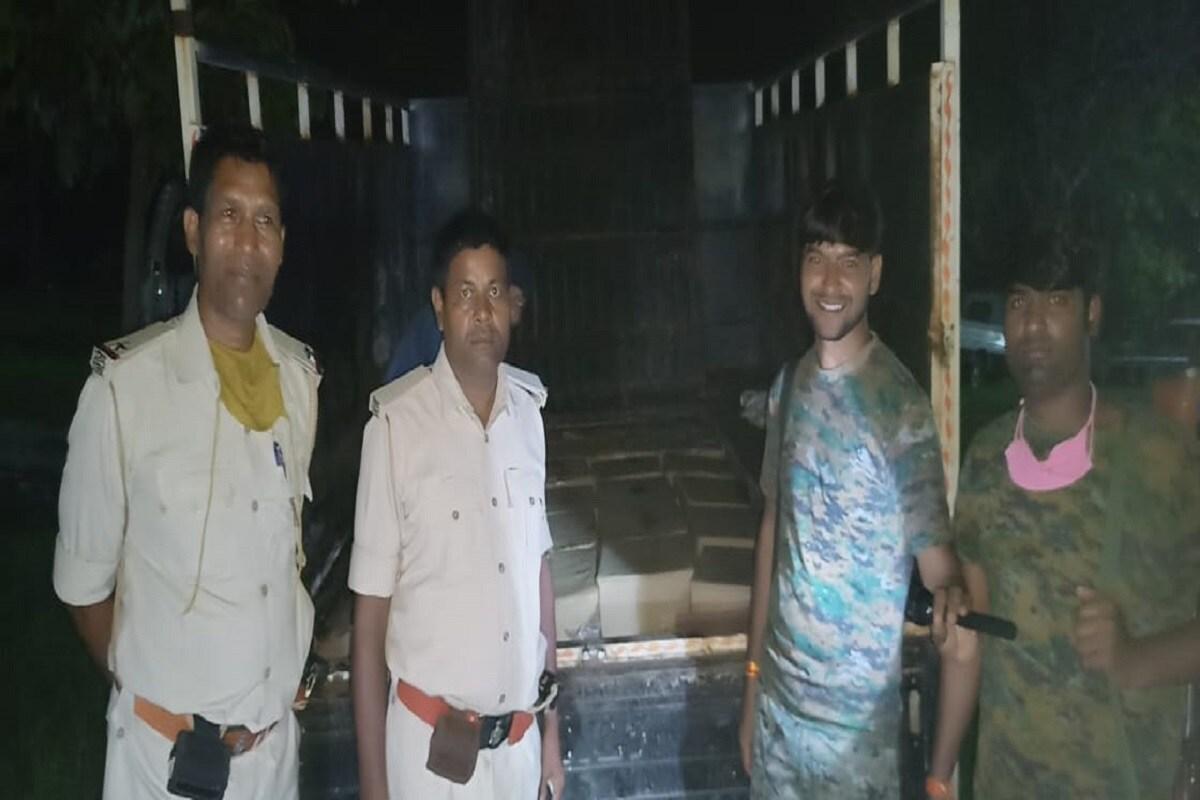 बिहार: खगड़िया और वैशाली में मद्य निषेध विभाग की बड़ी कार्रवाई, 1000 लीटर से अधिक शराब जब्त