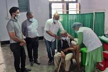 COVID-19: मंडी जिला प्रशासन ने कुष्ठ रोगियों और दिव्यांगजनों की लगवाई वैक्सीन