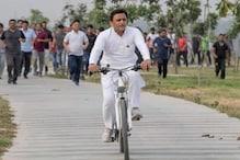 सपा की साइकिल यात्रा: अखिलेश साढ़े 6 किलोमीटर चलाएंगे साइकिल