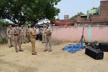 कटेखेडा गांव में सगाई समारोह था, जिसमें डीजी को लेकर हुए विवाद के बाद कई लोगों ने घर पर आकर मारपीट कर दी. इसमें महिपाल की दर्दनाक मौत हो गई.