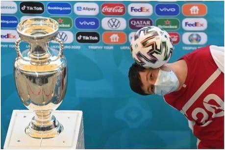 यूरो कप 2020 का आगाज 11 जून से।  (एएफपी)