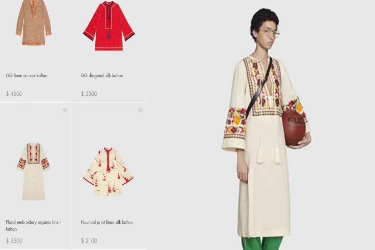 GUCCI,fashion brand gucci, Gucci kurta worth rs. 2.5 lakh,Gucci slip on,Gucci summer collection,Gucci crocs,Gucci's slip on rs. 34000, top news,viral news, social media trolling, gucci trolled on social media