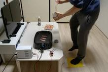 जापान में बना मज़ेदार ह्यूमन पावर्ड ग्रिलर, जितना दौड़ोगे उतना ही खाना मिलेगा
