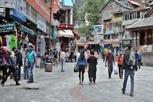 मनाली में कोरोना नेगेटिव रिपोर्ट संग पंहुच रहे टूरिस्ट,माल रोड पर बढ़ी चहलकदमी