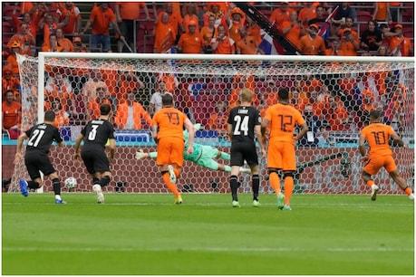 Netherlands beat Austria 2-0 (PIC: AP)