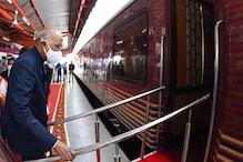 रेल यात्रा से अभिभूत हुए राष्ट्रपति कोविंद, पढ़ें विजिटर बुक में क्या लिखा