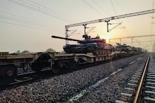 न्यू रेवाड़ी से फुलेरा तक दौड़ी मिलिट्री हथियारों से लदी ट्रेन, सफल रहा ट्रायल