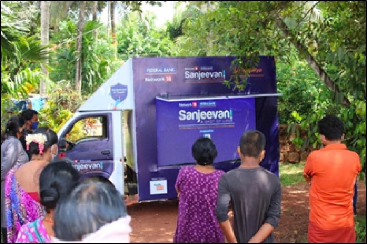 sanjeevani van initiative against coronavirus awareness program achs