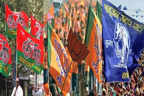 UP मिशन 2022: पंचायत चुनाव की हवा देख छोटे दलों की ओर निहार रहे बड़े दल.