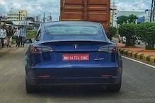 Tesla की मॉडल 3 इलेक्ट्रिक सेडान इंडिया में हुई स्पॉट, जानिए कब होगी लॉन्चिंग
