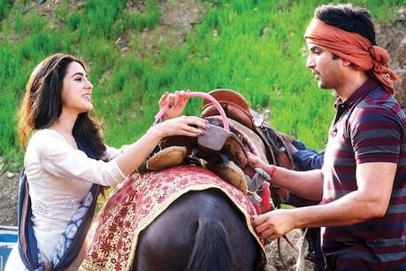 Sushant-Sara came close during the film 'Kedarnath'.  file photo.