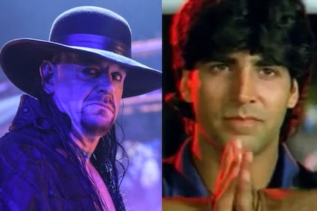 Undertaker-Akshay Kumar's comments are now going viral.  file photo